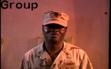 Petty Officer 1st Class Roderick Hopes