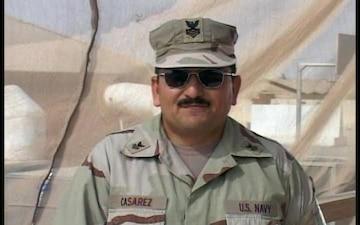 Petty Officer 1st Class Frank Casarez