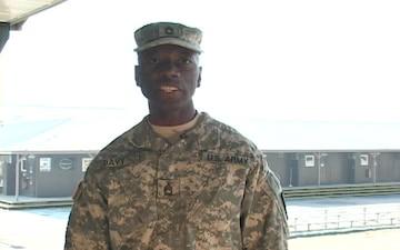 Sgt. 1st Class Carlton Davy