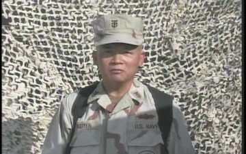 Master Chief Petty Officer Minh Nguyen