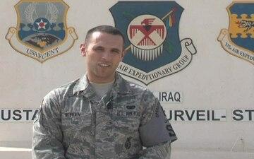 Senior Airman Eric Worden