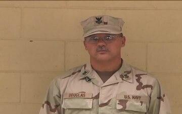 Petty Officer 1st Class Ron Douglace