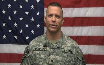Spc. Shawn Hannagan