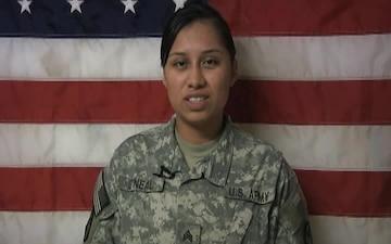 Sgt. Emily O'neal