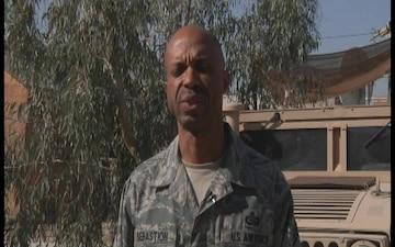 Senior Master Sgt. Eric Sebastion