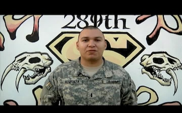 1st Lt. Robert Almanza