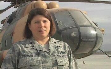 Lt. Col. Kimberly Tooman