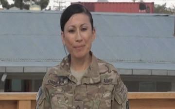 Spc. Michelle Oehler