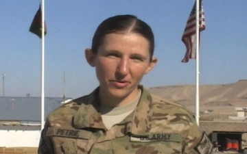Staff Sgt. Rebecca Petrie