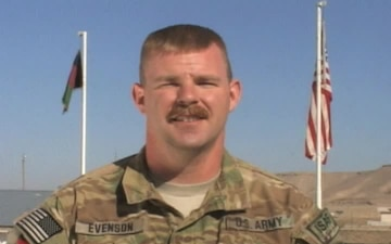 Staff Sgt. Corey Evenson