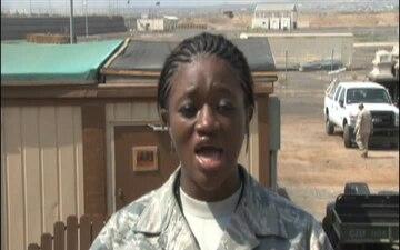 Staff Sgt. Crystal Johnson