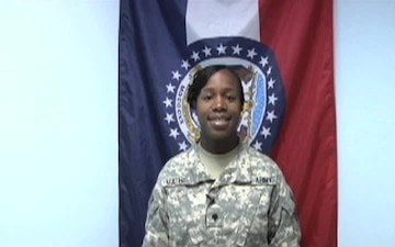 Spc. Anita Mathies