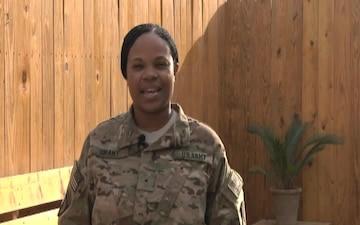 Warrant Officer Porsha Grant