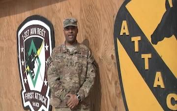 Master Sgt. Demetrius Evans