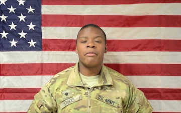Spc. Jamesha Stokes