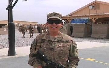Spc. Samantha Hall