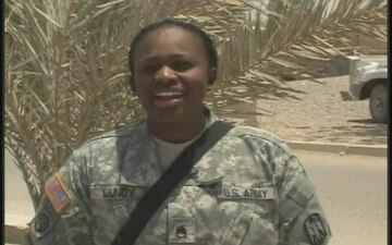 Staff Sgt. Ragine Lundy