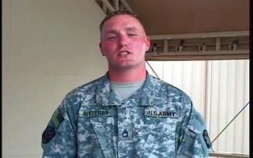 Sgt. 1st Class Eric Ritterby