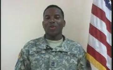 Master Sgt. Keith Thomas