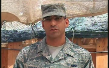 Tech. Sgt. Miguel Thorpe