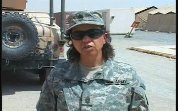 Command Sgt. Maj. Scarlett Stabel