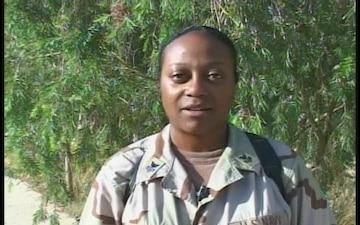 Petty Officer 1st Class Linda Peterson