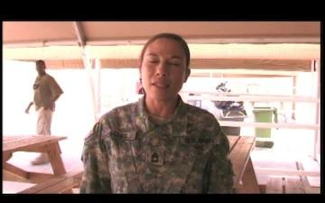 Sgt. 1st Class Barbara Geddis