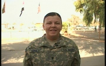 Spc. Bettina Croley