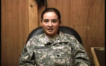 Spc. Tiffany Dusterhoft