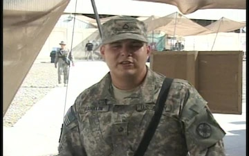 Pfc. Michael Franklin