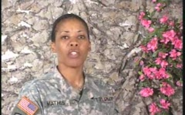Sgt. Vanessa Mathis