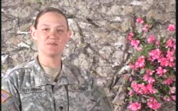 Spc. Amber Stearns