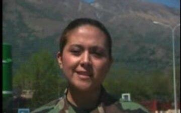 Airman 1st Class Maria Hernandez