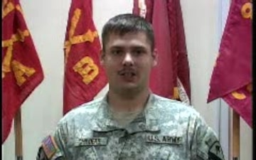Spc. Timothy Childers