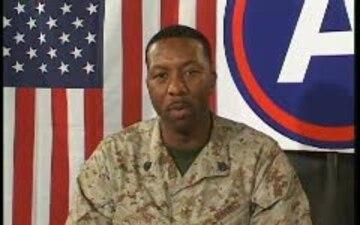 Staff Sgt. Houston White