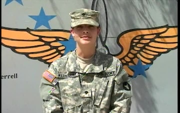 Spc. Courtney Wernimont