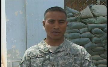 Staff Sgt. Gibson Mongkeya