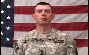 1st Sgt. Tim Butler