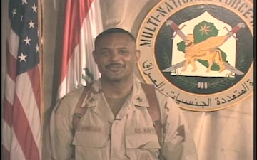 Petty Officer 1st Class Winston Terrence
