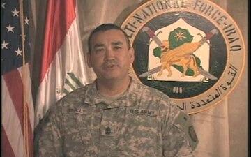 1st Sgt. Peter O'Reilly
