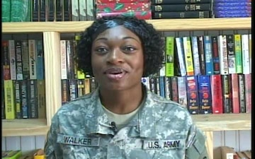 Spc. Angela Walker