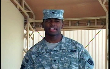 Spc. Christopher Goffe