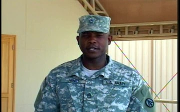 Sgt. 1st Class Gregory Henry