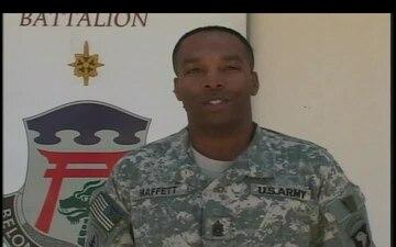 Command Sgt. Maj. Derrick Maffett