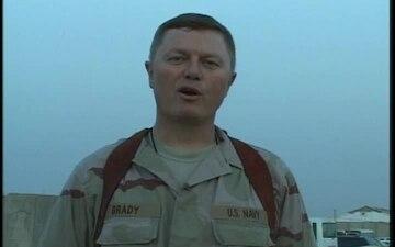 Lt.Cmdr. Steven Brady
