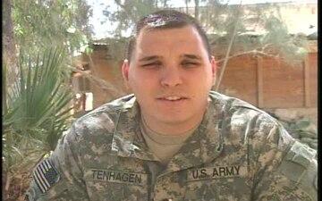 1st Lt. Dan Tenhagen