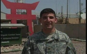 Spc. Matthew Burke