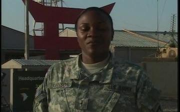 Warrant Officer Marsha Johnson