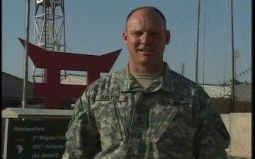 1st Sgt. Todd Dalton