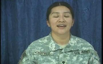 Spc. Margarita Chavez